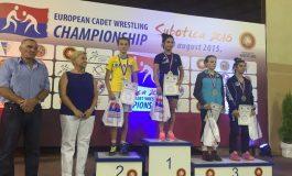 Ştefania Priceputu, aur european la lupte feminine pentru România după 5 ani