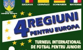 Patru regiuni pentru Europa, competiție fotbalistică la... Pojorîta-Suceava