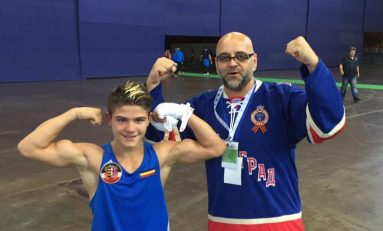 Cosmin Gîrleanu, campion mondial la box juniori!