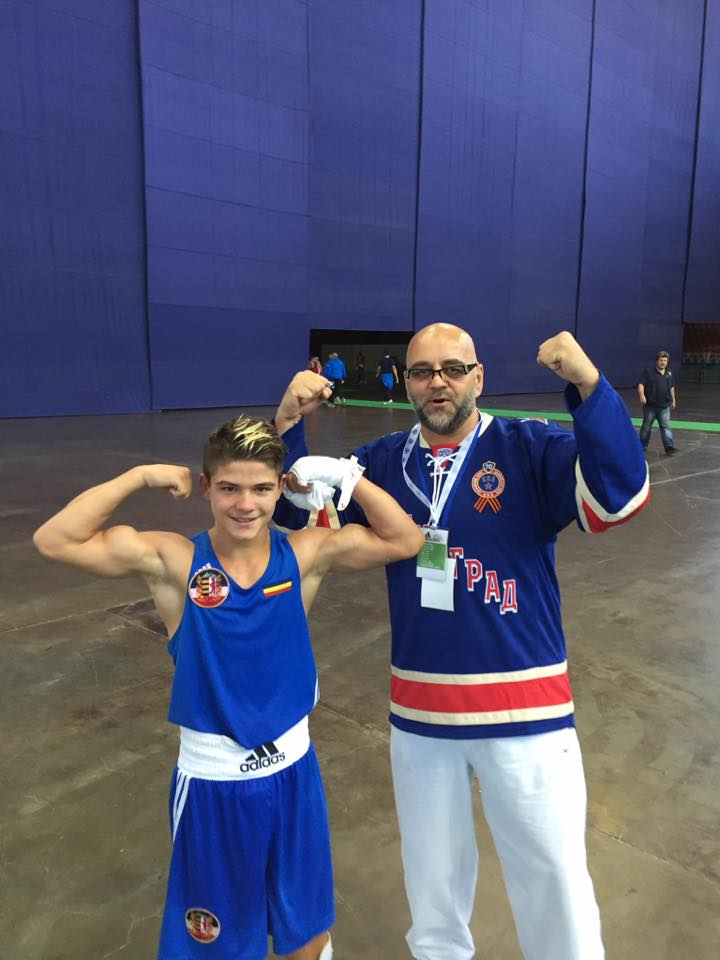 Cosmin Gîrleanu, campion mondial la box juniori!