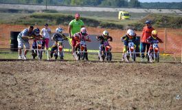 Copiii au revenit în motocross, la clasa MX50
