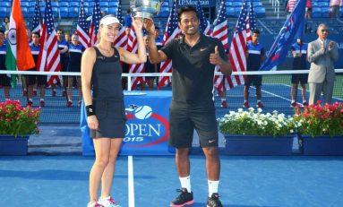 Al treilea titlu de Grand Slam în 2015 pentru Martina Hingis-Leandro Paes