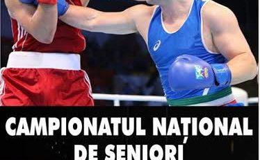 Finala Campionatul National de Box pentru Seniori