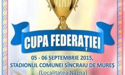 Cupa Federatiei la Oina, editia 2015