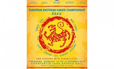 Campionatul European ESKU şi Openul Internaţional pentru persoane cu dizabilităţi