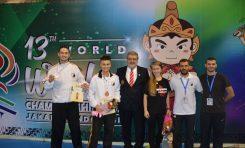 Rezultate meritorii la Campionatul Mondial de Wushu