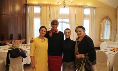 Valeria Răcilă van Groningen și Fundația Olimpică Română susțin campionii aflați la senectute