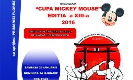 "Cupa ""Mickey Mouse"" o competitie a unirii prin sport"