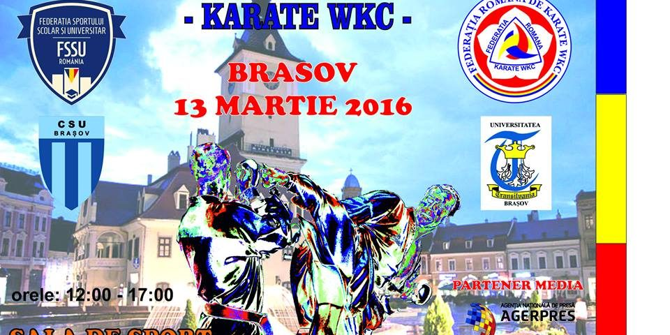 Campionatul National si Campionatul National Universitar FR Karate WKC