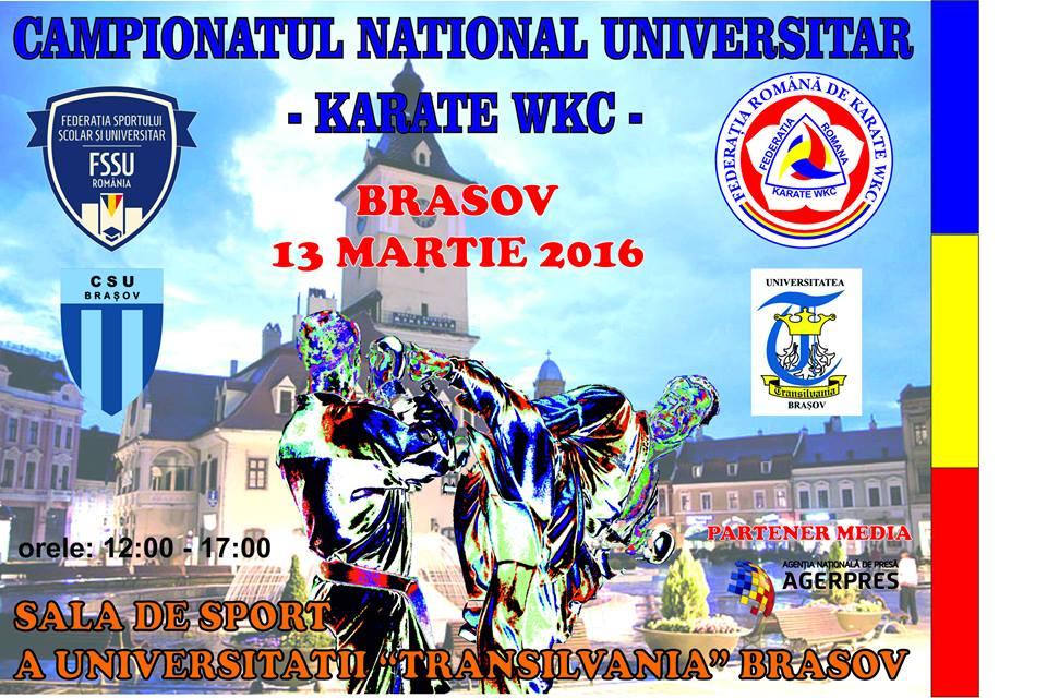 Campionatul National si Campionatul National Universitar FR Karate WKC