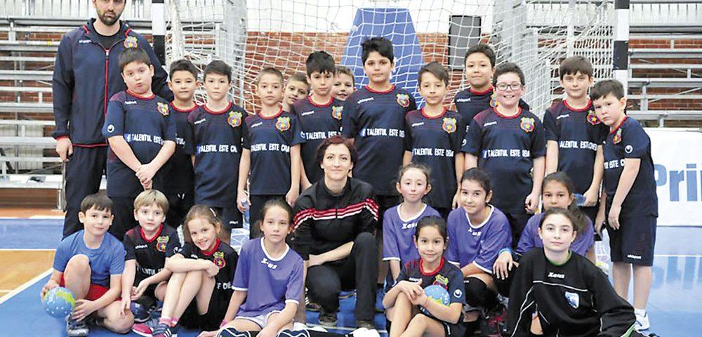 """""""Talentul este cheia"""" dezvoltării handbalului stelist juvenil"""
