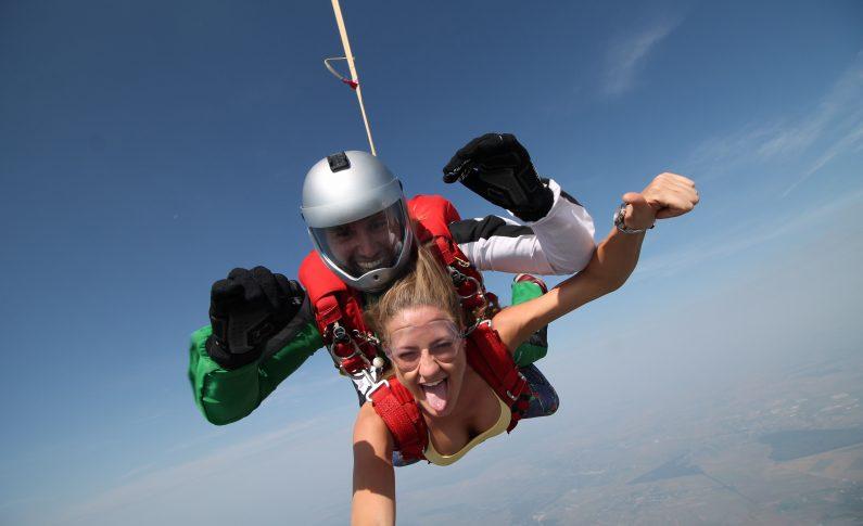 Parasutism feminin la Girls Can Fly-Clinceni