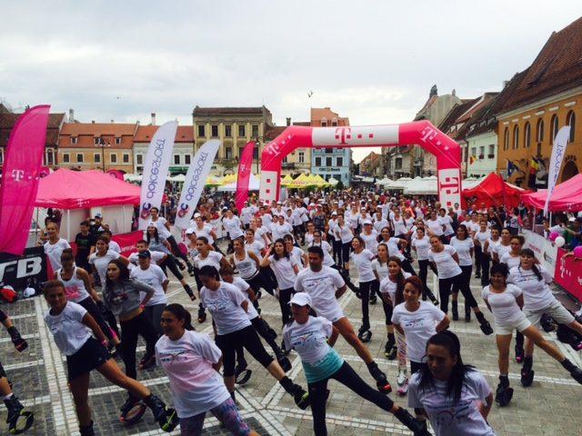 """Peste 37.000 de participanți la """"Cea mai mare oră de sport"""", ediția 2016"""