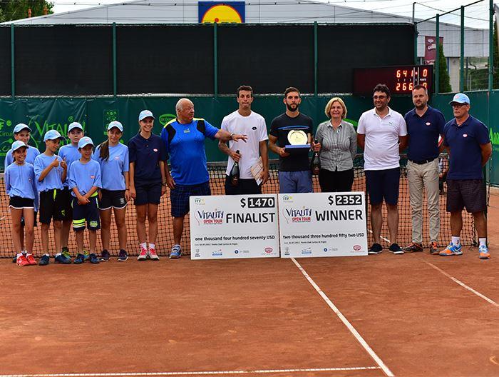 Vasile Antonescu, victorios la Vitality Open Tour