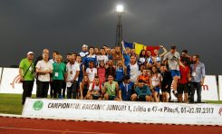 România a cucerit argintul la  Campionatul Balcanic de Atletism Juniori 1