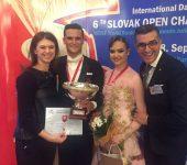 Stan Tiberiu-Florin - Grigore Daria medalie de bronz la Capionatul European!