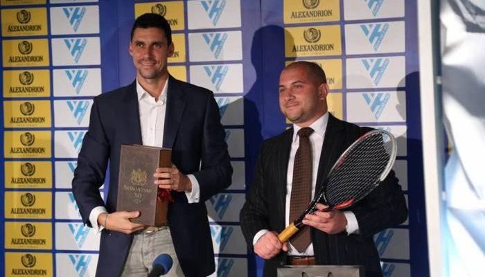 """Victor Hănescu, susţinut în proiectul """"Train Like a Pro"""""""