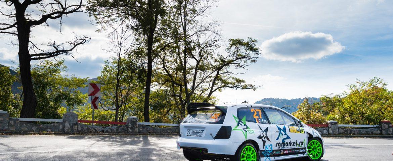 Gabriel ENE din nou alături de Honda Civic pe traseele montane din România