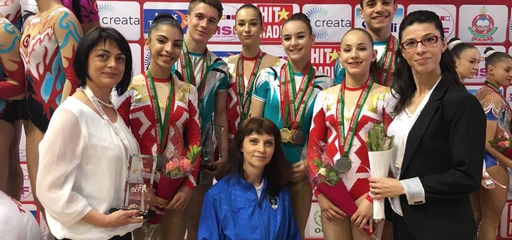 7 medalii obținute de gimnaștii români la Gimnaziadă
