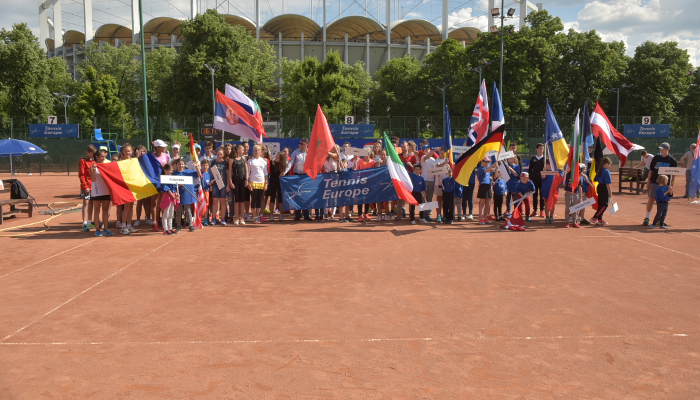 S-a dat startul turneului Tennis Europe Junior