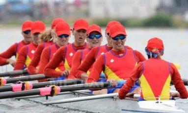 Echipajul României de 8+1 a terminat pe locul patru în finala de 2000 de metri