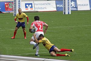 Meci amical de rugby pentru juniori