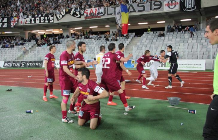 Și CFR Cluj pierde la două goluri diferență în Europa League