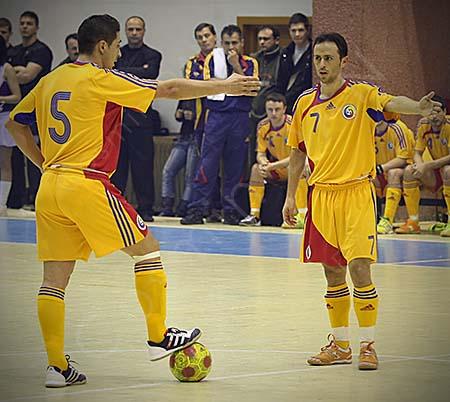 România – Belgia 5-2 la futsal