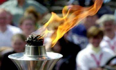 Flacăra olimpică a fost aprinsă în Olympia