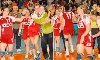 """HC Zalău, """"antrenament"""" dur pentru semifinalele din Cupa EHF"""