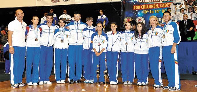Rezultatele sportivilor de la CS Rapid la Europenele de Karate WKC