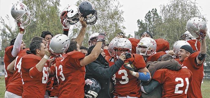 Cluj Crusaders – campioana României la fotbal american