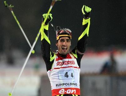 A 22-a victorie pentru Martin Fourcade, liderul Cupei Mondiale