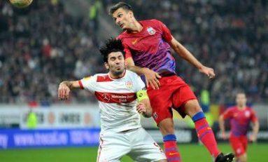 Steaua - Gaz Metan Medias 3-0 in Liga I