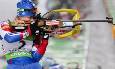 Shipulin și Kuzmina câștigă sprintul de la Antholz