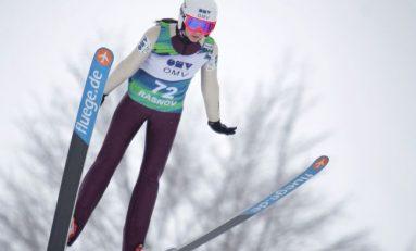 Dana Haralambie, locul opt la sărituri cu schiurile