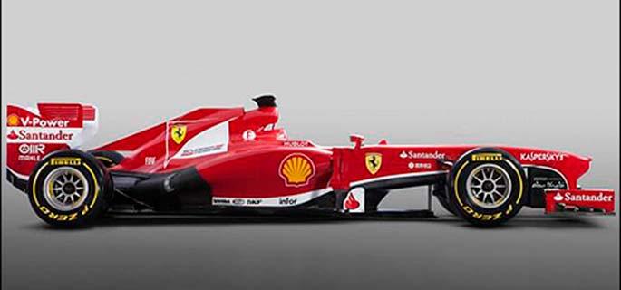 Și Ferrari a prezentat noul monopost pentru 2013