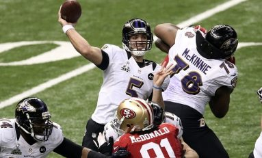 Baltimore Ravens a câştigat Super Bowl