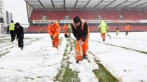 Meciul Irlanda de Nord - Rusia amânat din cauza zăpezii