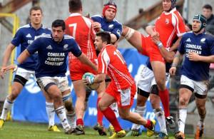Rundă spectaculoasă la rugby