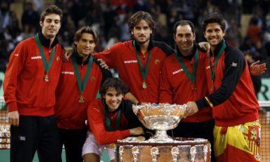 Meciurile din barajul pentru Grupa Mondială a Cupei Davis