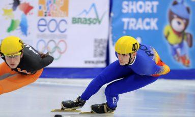 Peste 30 de medalii la Balcaniada de short-track pentru România