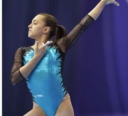 Larisa Iordache şi Diana Bulimar în finalele Campionatelor Europene de gimanstică