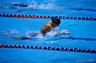 Ioana Popa şi-a doborât recordul la 50 de metri bras