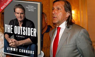 """""""The Outsider"""", cartea autobiografică a lui Jimmy Connors care-l include și pe Ilie Năstase"""