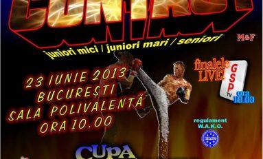 Intrare liberă la Campionatul Național de Kickboxing Full-Contact - ediția 2013