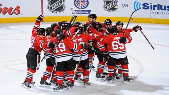 Chicago Blackhawks câștigă primul meci al finalei Cupei Stanley