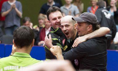 Trei români au devenit campioni ai Germaniei la tenis de masă