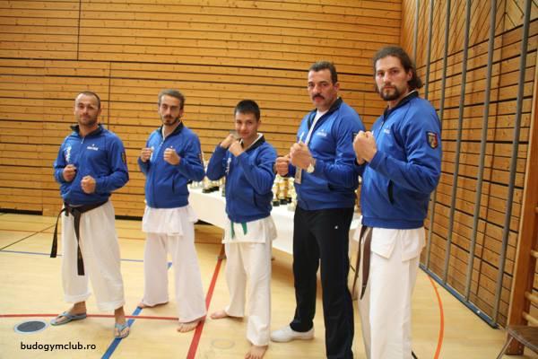 Delegaţia Budo Gym Club s-a întors din Germania cu un campion european