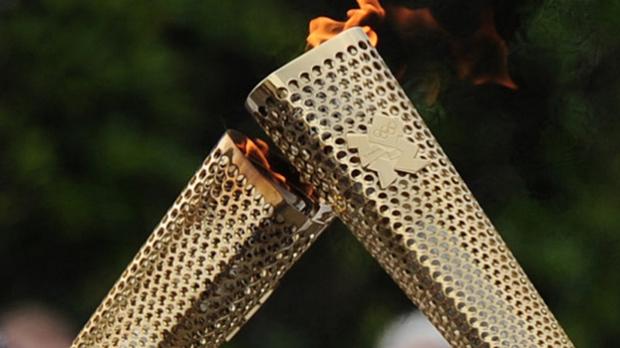 Torța olimpică de la Soci, la prima ieșire în spațiu